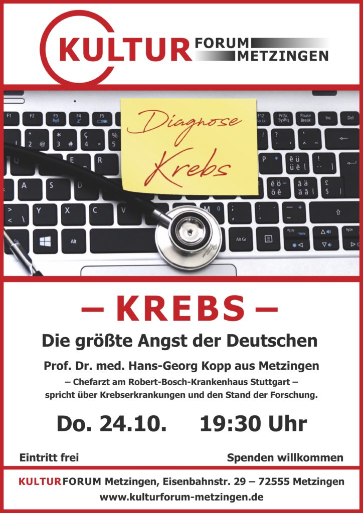 KREBS - die größte Angst der Deutschen