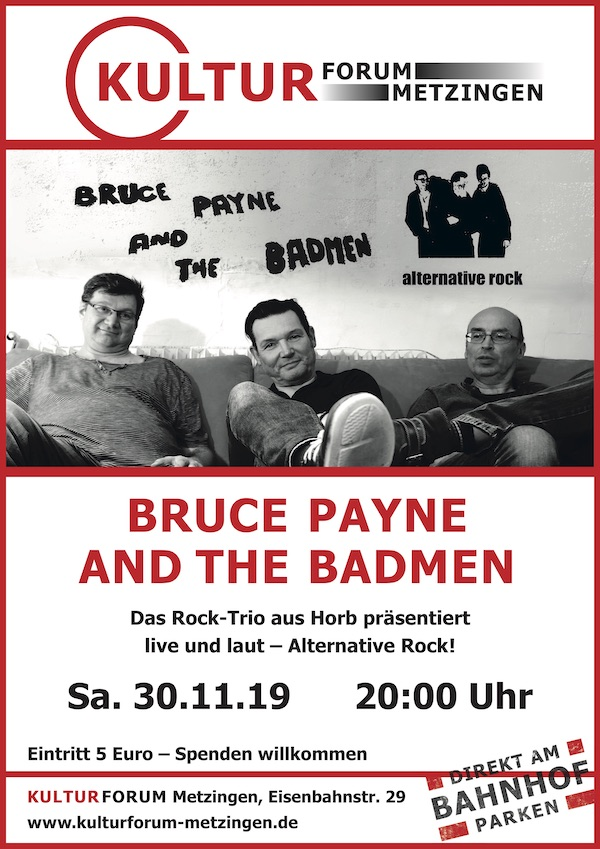 Bruce Payne and the Badmen