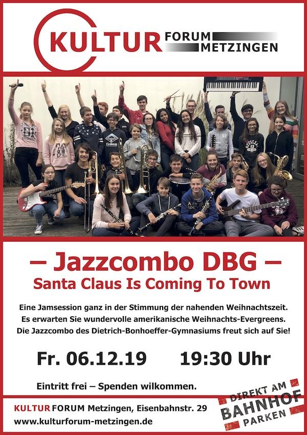 Jam Session mit der Jazzcombo des DBG