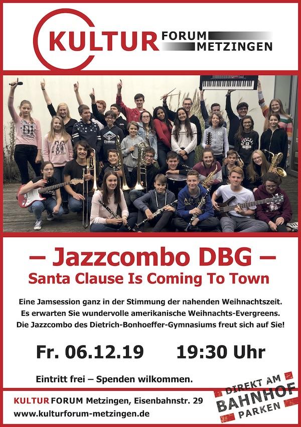 Jamm Session mit der Jazzcombo des DBG