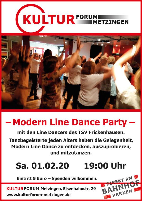 2te Modern Line Dance Party