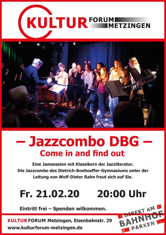 Jam Session mit der Jazz Combo des DBG