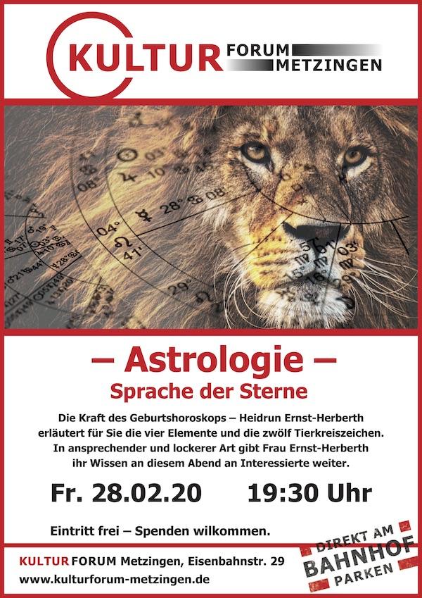 Astrologie - die Sprache der Sterne