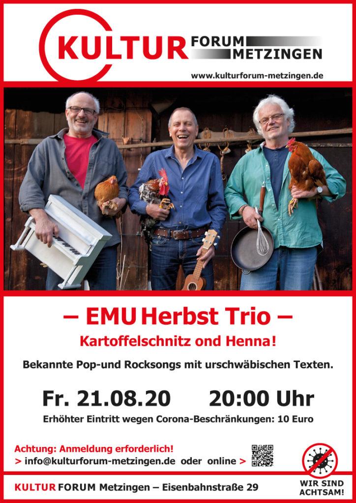 """EMUHerbst Trio - """"Kartoffelschnitz und Henna"""""""